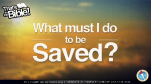 How to be saved?